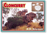 Cloncurry N.W. Queensland - DISCOUNTED Standard Postcard  CLO-092