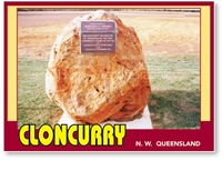 Cloncurry North West Queensland - DISCOUNTED Standard Postcard  CLO-095