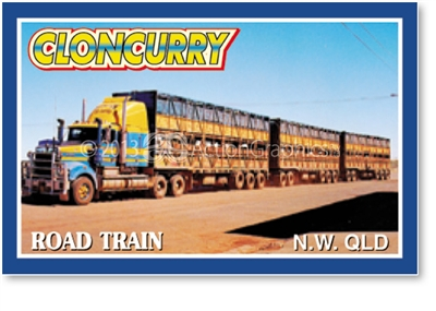 Cloncurry Road train - Small Magnets  CLOM-024