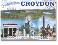 Greeting from Croydon - Small Magnets  CROYM-002