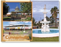 Cunnamulla South West Queensland - Standard Postcard  CUN-248