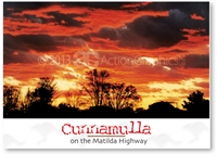 Cunnamulla on the Matilda Highway - Standard Postcard  CUN-457