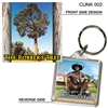 The Robber's Tree - 40mm x 40mm Keyring  CUNK-002