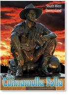Cunnamulla Fella - Small Magnets  CUNM-002