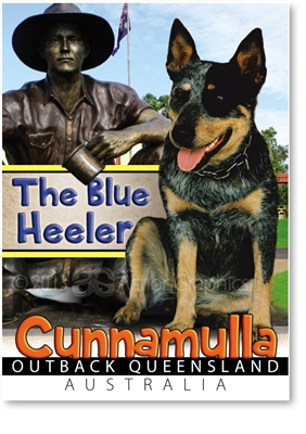 The Blue Heeler - Small Magnets  CUNM-005