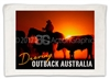 Droving at Outback - Sublimated Hand Towels