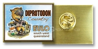 EULO Diprotodon Country - Hat Badge