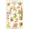 BUSH FLOWERS Cotton/Linen Tea Towel - FC220