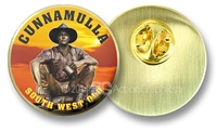 Cunnamulla Fella - Hat Badge