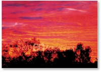 Aussie Outback - DISCOUNTED A4 Print  GENA-005