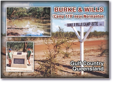 Burke & Wills - Small Magnets  GFCM-031