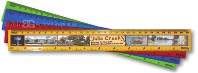 Julia Creek - Scenic Ruler  JULR-001