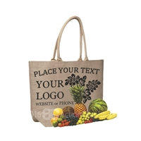 Jute Laminated Farmer Market Bag
