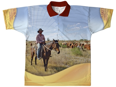 Droving - Sublimated Polos K20