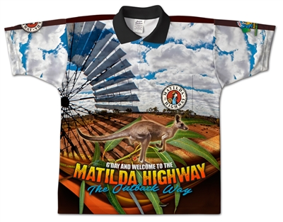Matilda Highway - Sublimated Polos K20