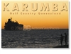 Karumba, Trawler at Sunset - DISCOUNTED Standard Postcard  KAR-064