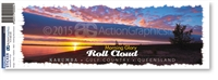 Roll Cloud  - Bumper Sticker  KARBS-004