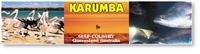 Karumba Gulf Country Queensland - DISCOUNTED Long Magnets  KARLM-098