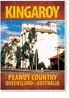 Peanut Country - Small Magnets  KINM-055
