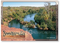 Lawn Hill Gorge, Boodjamulla National Park - Standard Postcard  LAW-001