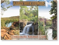 Lawn Hill Gorge, Boodjamulla National Park - Standard Postcard  LAW-005