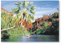 Lawn Hill - Standard Postcard  LAW-329