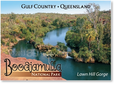 Lawn Hill Gorge, Boodjamulla National Park - Small Magnets  LAWM-001