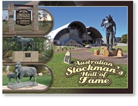 Australian Stockman's Hall of Fame- Standard Postcard LON-001