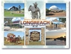 Longreach where legends are born - Standard Postcard LON-009