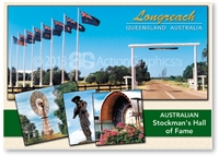 Longreach Queensland Australia - DISCOUNTED Standard Postcard LON-199