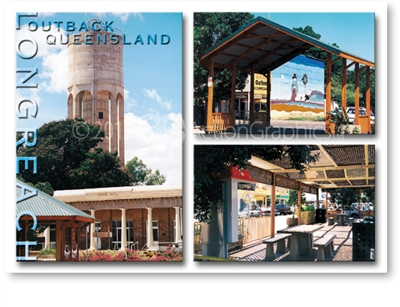 Longreach Tower - DISCOUNTED Standard Postcard LON-205