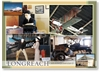 Longreach Qantas Museum Displays - DISCOUNTED Standard Postcard LON-213