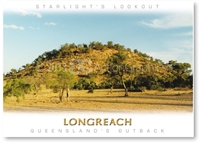 Longreach Starlight's Lookout Hill - DISCOUNTED Standard Postcard LON-335