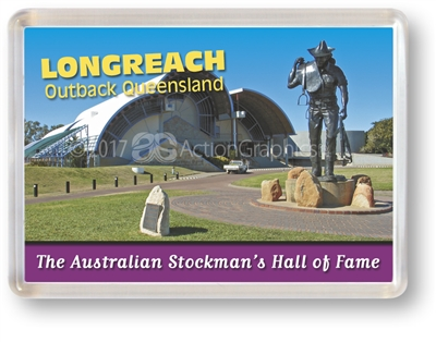 The Australian Stockman's Hall of Fame - Framed Magnet  LONFM-005