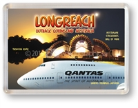 Longreach Outback Queensland - Framed Magnet  LONFM-006