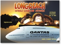 Longreach Collage - Large Magnets  LONLM-001