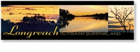 Longreach Sunset - DISCOUNTED Long Magnets  LONLM-100