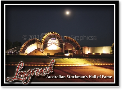 Australian Stockman's Hall of Fame - Small Magnets  LONM-002