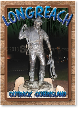 ASHOF Statue - Small Magnets  LONM-004