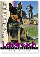 The Blue Heeler - Small Magnets  LONM-008