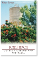 Longreach Water Tower - DISCOUNTED Small Magnets  LONM-018