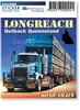 Longreach Road Train  - Rectangular Sticker  LONS-015