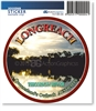 Longreach Thomson River  - Round Sticker  LONS-069