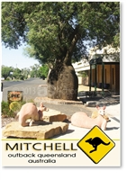 Mitchell Outback Queensland Australia - Small Magnets  MITM-214