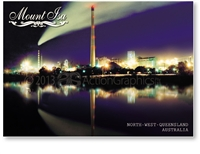 Mount Isa Outback Queensland - Standard Postcard  MTI-004