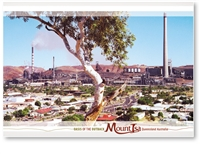 Mount Isa Oasis of the Outback - Standard Postcard  MTI-117