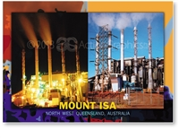 Mount Isa North West Queensland - DISCOUNTED Standard Postcard  MTI-127
