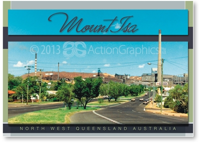 Mount Isa North West Queensland - DISCOUNTED Standard Postcard  MTI-301