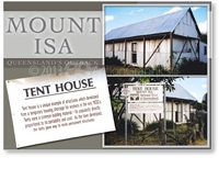 Mount Isa Tent House - DISCOUNTED Standard Postcard  MTI-342