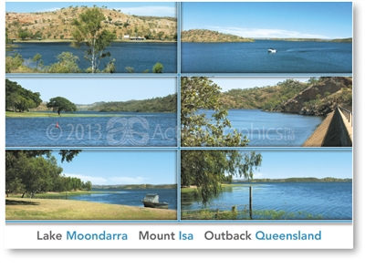 Lake Moondarra - DISCOUNTED Standard Postcard  MTI-452